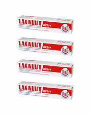 4x LACALUT AKTIV Daily Medical Toothpaste Made in Germany 75ml 2.6 fl oz