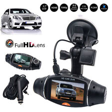 1080p HD Dual Lens 140 ° Dash Cam GPS Car DVR Video Recorder Camera G-sensor