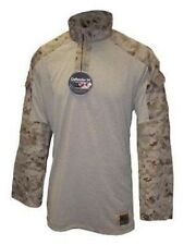 Us Marine Corps USMC Army MARPAT Desert Digital Frog Combat camiseta Camisa ml