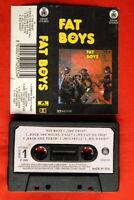 FAT BOYS 1988 UNIQUE RARE EXYU CASSETTE TAPE