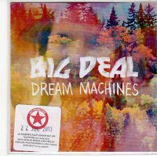 (ED105) Big Deal, Dream Machines - 2013 DJ CD