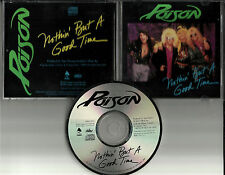 Bret Michaels POISON Nothin But a Good Time 1988 USA PROMO DJ CD single Nothin'