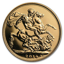 2014 Great Britain Gold Sovereign BU - SKU #79918
