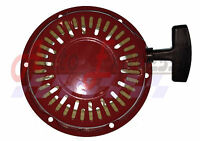 NEW PULL START RED RECOIL COVER FOR HONDA GX120 GX160 & GX200 fit 5.5 HP 6.5 HP