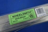 New Wheelsmith 1.8 Stainless Steel SS15 301mm J-Bend Bicycle Spoke Silver