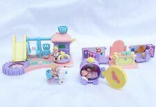 Vintage Rare Lot Bluebird Toys Mimi and the Goo Goos avec 3 bébés