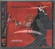 European Jazz Trio: Japanesque (2010) CD OBI TAIWAN