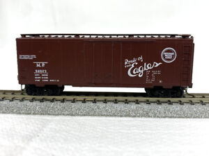 N Scale - Micro-Trains #21110 - Missouri Pacific #96023 - Boxcar - BLUE LABEL