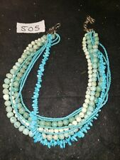 Mercedes Salazar Necklace Turquoise? Vintage Modern Stunning Estate