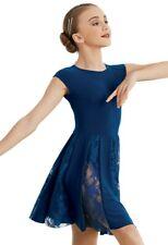 4625df95d Navy blue lyrical dance costume size 8 children brand new