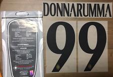 Stilscreen Official  AC Milan Home GK Nameset Print Donnarumma 99 2016/17