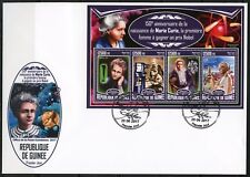 GUINEA 2017 150th BIRTH OF MARIE CURIE  SHEET FIRST DAY COVER