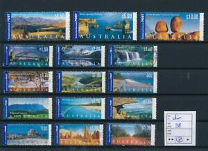 D194170 Australia Landscapes Nice selection of VFU Used stamps