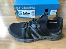 New Columbia Size 10 OKOLONA Black White Sneakers New Men's Water Shoes