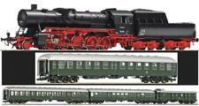 Roco H0 Personenzug 62255 DAMPFLOK BR 50 3140 + 4 WAGEN 64315 64019 DB Ep.3 NEU