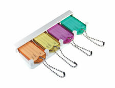 HILLMAN  Plastic/Metal  Labeling/ID  Key Holder  Assorted Colors