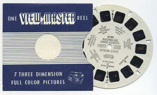 Buildings and Swiss Guards Vatican State 1949 Belgium-made ViewMaster Reel 2722
