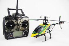 RC Hubschrauber Helikopter Ferngesteuert - Single Rotor - Gelb/Grün