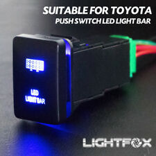 Push Switch LED Light Bar Car Suitable for TOYOTA Prado Hilux Landcruiser