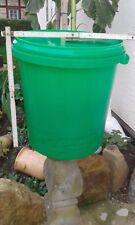 NEUWARE Lebensmittel 5 x 30 Liter Eimer mit dichten Deckel  UV-beständig HOBBOCK