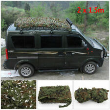 Shooting Hunting Hide Army Camouflage Net Camo Netting Woodland shelter Truck