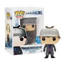New Sherlock w/ Deerstalker Hat Pop Vinyl Figure #291 Funko Official