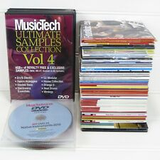 Mixed Lot Of 90 Music Sample Cd / Dvd Rom - Computer Music / Future Music Tech