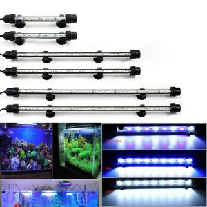 Aquarium Fish Tank LED Light RGB SMD White Blue Color Strip Light Bar Lamp Light