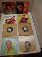 ELVIS 45 RPM RCA VICTOR RECORD LOT OF 8