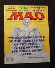 1994 MAD MAGAZINE #324 NM In The Line Of Fire Parody