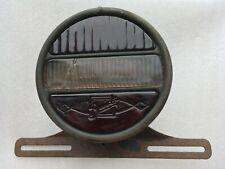 1920'S ORIGINAL BUICK EMBOSS BRAKE TAIL LIGHT HOUSING LICENSE PLATE BRACKET SIGN