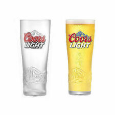Set Of 2 x Coors Light Half Pint Glasses 10oz Brand New 100% Genuine CE Marked