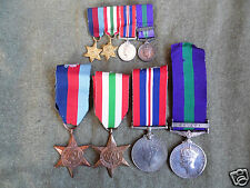 WORLD WAR 2 MEDAL GROUP AWARDED TO 14314772 SJT R.SPEIGHT.RAOC WITH MINIATURES