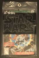 Star Wars 1977 Sealed 3 Pack of #'s 1 2 & 3 Marvel Comic Books - Never Opened!