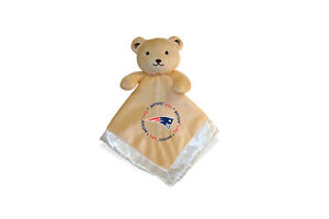 New England Patriots Baby Security Bear Blanket, NFL Officially Licensed, 14X14