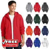 Port & Company Men's Team Colors Cotton Fleece Hooded Sweatshirt PC850ZH Hoodie