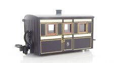 More details for peco gr-555 oo-9 ffestiniog bug box 3rd class coach purple & brown