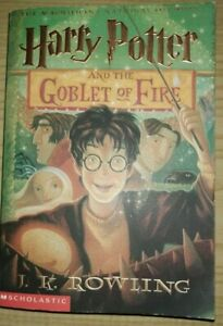 HARRY POTTER AND GOBLET OF FIRE Rowling 2002 SCHOLASTIC Grandprè lingua inglese