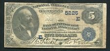1882 $5 DB THE BANK OF PITTSBURGH NATIONAL ASSOCIATION PENNSYLVANIA CH. #5225