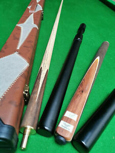 "3/4 Handmade ASH 57"" Snooker Cue  / Pool Cue"