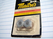 Lot Of 2 MAITRE'S Fusible Seals for 4, 6, & 8 Quart Pressure Cookers, New In Pkg