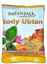 Patanjali Ubtan Face Pack Indian Natural Body Mask Powder for Glow  100 gm