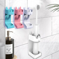Electric Toothbrush Holder Wall-Mounted Holder Space Saving Bathroom Accessories