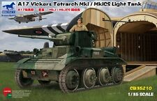 Bronco Models 1/35 A17 Vickers Tetrach MkI/MkICS Plastic Model Kit 35210