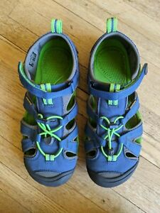 KEEN Unisex Seacamp Ii CNX Water Sandal, Big Kids Youth Size 5,Excellent Cond