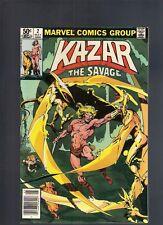 Ka Zar The Savage #2 May 1981 Marvel High Grade