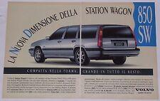 Advert Pubblicità 1993 VOLVO 850 GLT SW