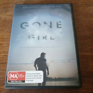 Gone Girl DVD R4 Like New! FREE POST