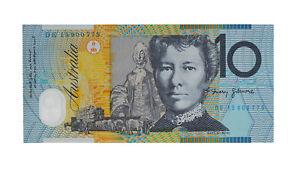 2015 Stevens/Fraser $10 Ten Dollar General Prefix Note - UNC, R.323 D7-3321