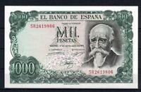 Billete de España 1000 pesetas 1971 Jose Echegaray 5R2619806